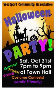 WCA Halloween poster